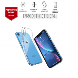 Coque & Verre Trempé iPhone XR