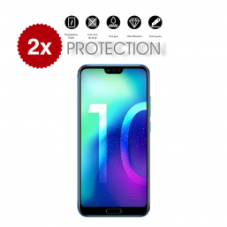 2x Verre Trempé Honor 10