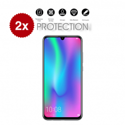 2x Verre Trempé Honor 10 Lite