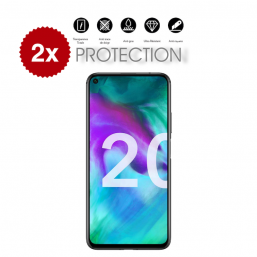 2x Verre Trempé Honor 20